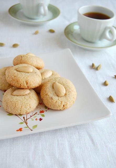 Chewy macaroons / Macaroons de amêndoa