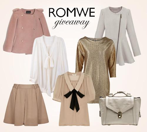 romwe giveaway