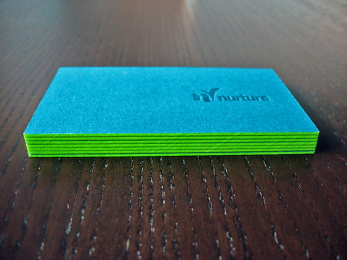 Nurture Athletics Business Cards