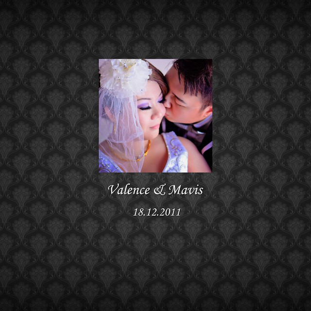 Valence & Mavis Wedding