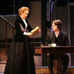 Morgan Ritchie and Kate Burton in The Corn is Green. Part of the Huntington Theatre Company's 2008-2009 Season. Photo: Joan Marcus