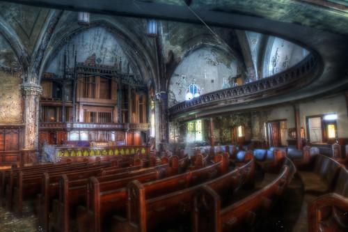 abandoned church decay detroit crumble urbex woodwardavenuepresbyterianchurch saintcurvy