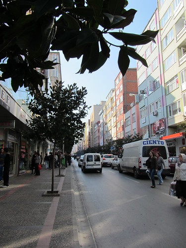 Balikesir: main shopping street Milli Kuvvetler Cd