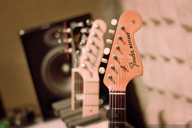 Guitar Fender Mustang 1964