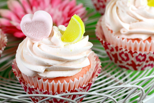 Pink Lemonade Cupcakes by IrishMomLuvs2Bake