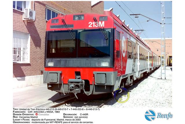 Renfe - Cercanías - 440-213, Fuencarral