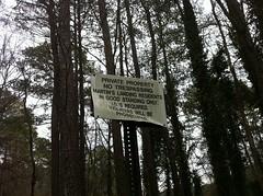 Martin Lake Sign