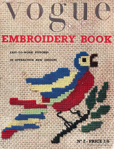 vintage vogue embroidery book