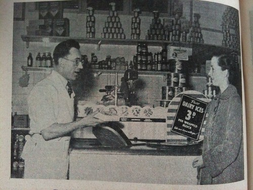 Frozen Food 1950 at the Co-op