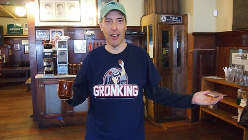 Steve Garfield #gronking at Boston Media Makers