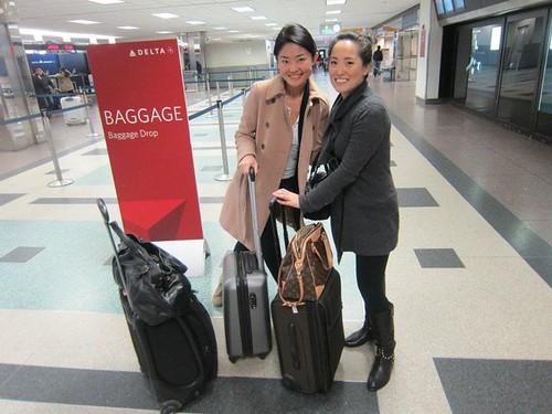 MichelleandGrace_airport