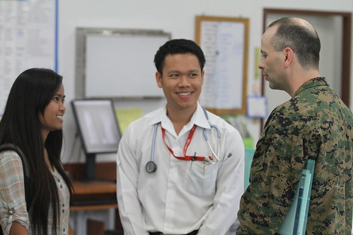 U.S., Thai service members join for medical care