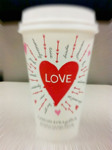Happy Valentines from Starbucks