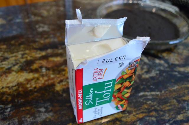 A box of extra firm tofu.