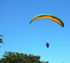 Parapente no Parque da Cidade de Niterói