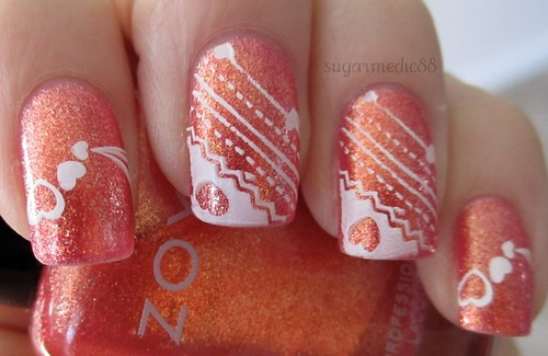 Rica Valetine's Day Nails