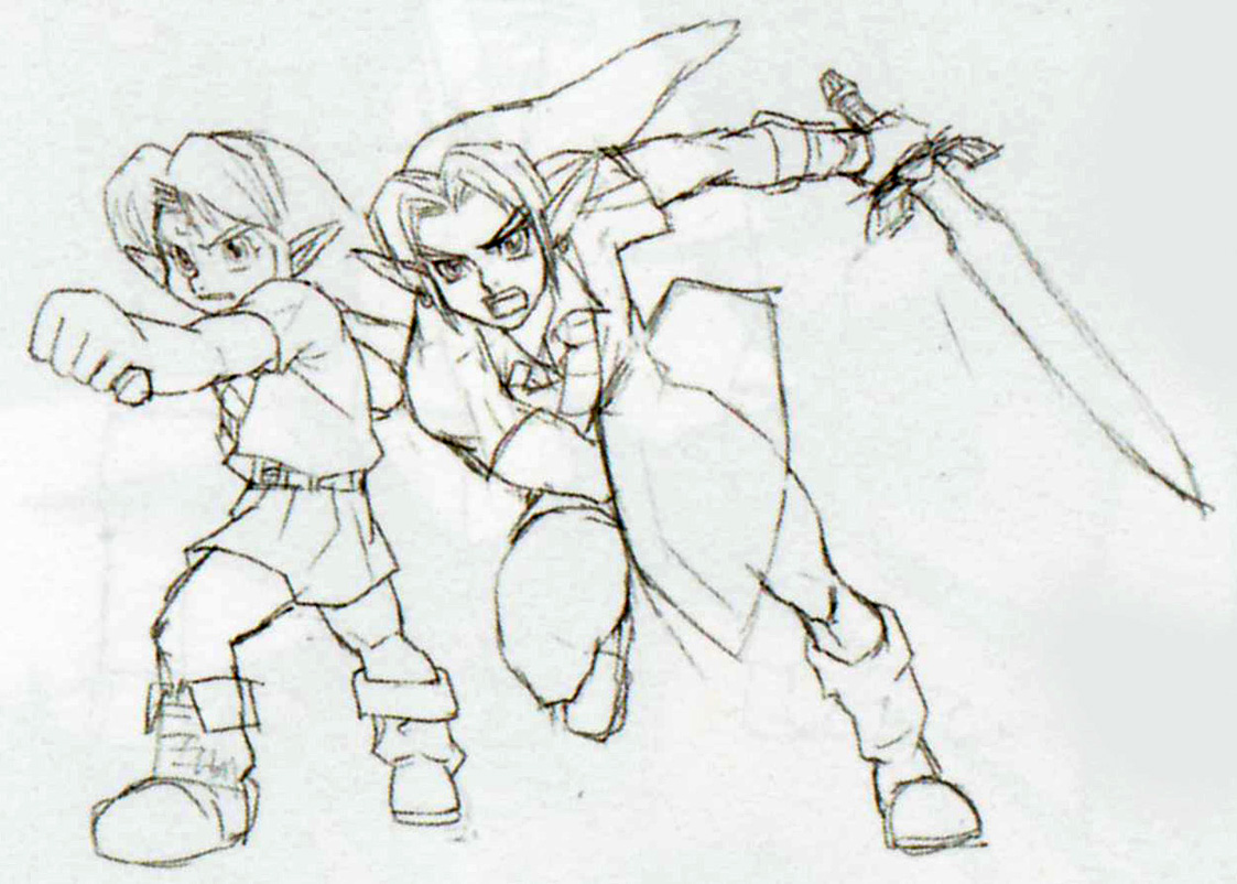 OoT Adult & Child Link