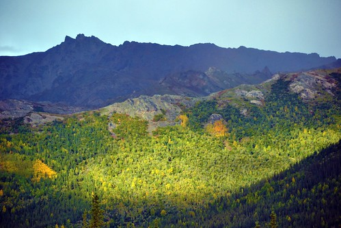 Valley of Light, mountains in Denali National Park