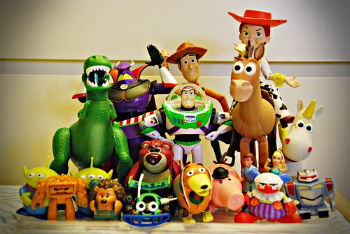 My son's Toy Story collection....