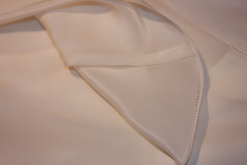 French Seam and Narrow hem