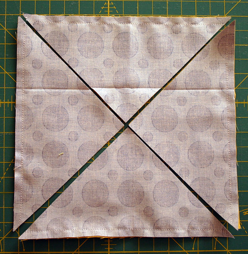 Friendship Hexagon block tutorial - detail 1