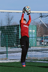 goalkeeper, sport venue, sports, player, physical exercise, athlete,