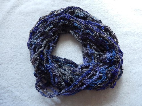 Artfully Simple Infinity Scarf FO