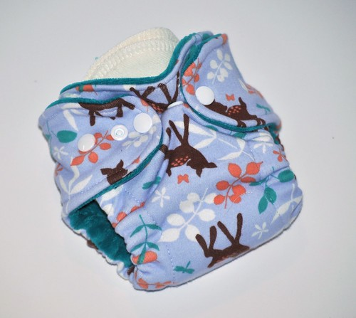 Newborn  Fitted Bambi   Cotton Velour