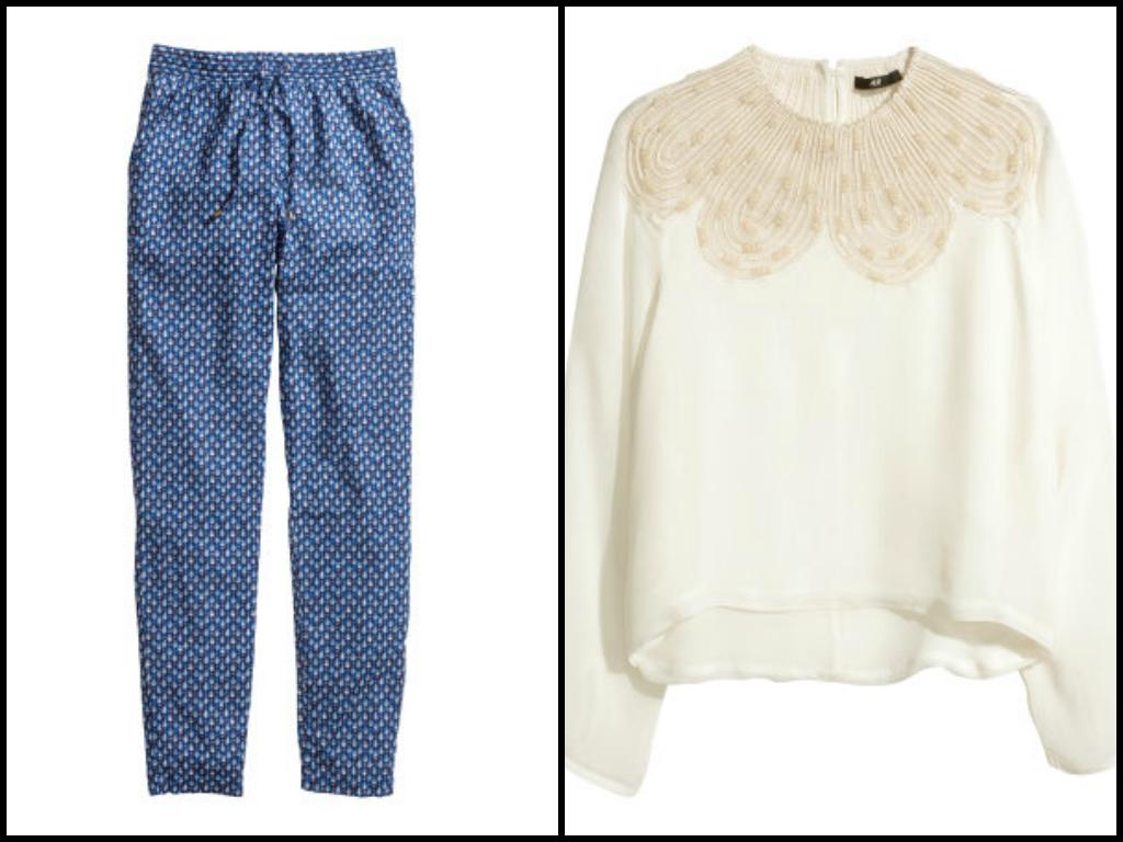 pantalon pijama h&m