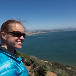 Emily at Cabrillo National Monument