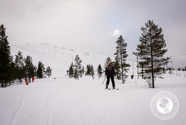 15 Ways Yllas, Finland Surprised and Enchanted Us - Downhill skiing Yllas