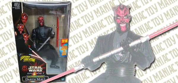 12 Electronic Talking Action Figure Darth Maul