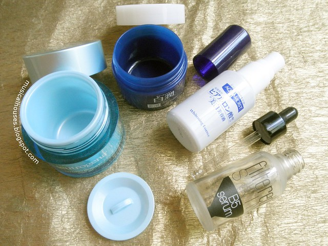 Empties Moisturizer Serum Neutrogena Hada Labo Filtered Skin