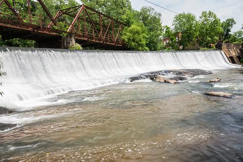 Glendale Mill Dam - 02