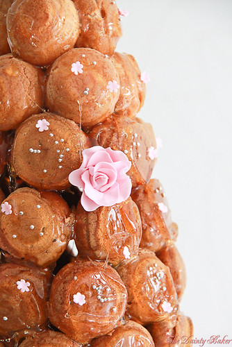 Croquembouche wedding cake-11