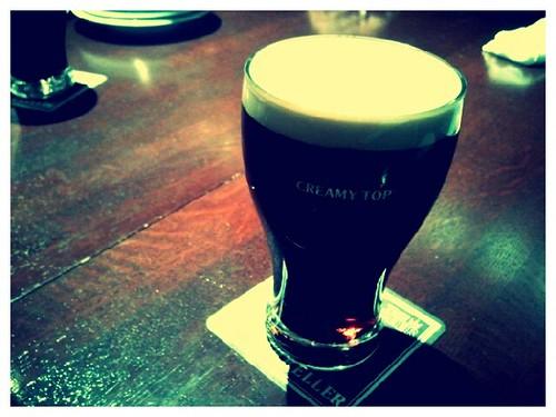 エビスクリーミートップ。このビールうまい!