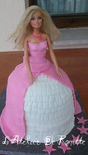 Barbie Doğumgünü Pastası by l'atelier de ronitte