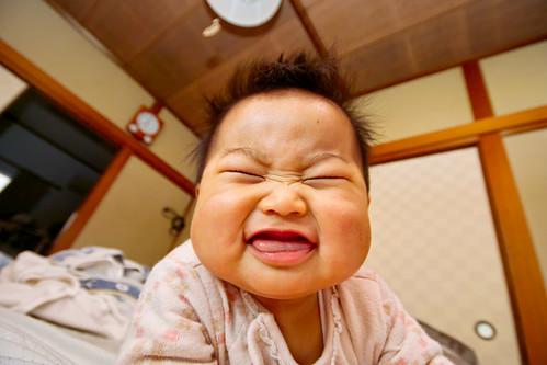 無料写真素材, 人物, 子供  赤ちゃん, 笑顔・スマイル, 日本人