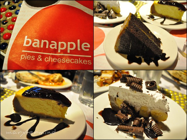 Banapple Cakes and Pies