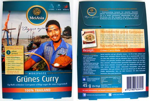 Groene currypasta van MeiAsia