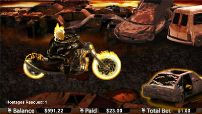 Ghost Rider free spins