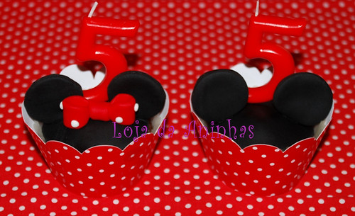 Cupcakes Mickey e Minnie by Aninhas_lisboa