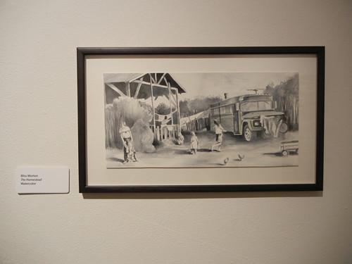 Art Practice Department Honor Student Show, Worth Ryder Gallery, UC Berkeley _ 8552