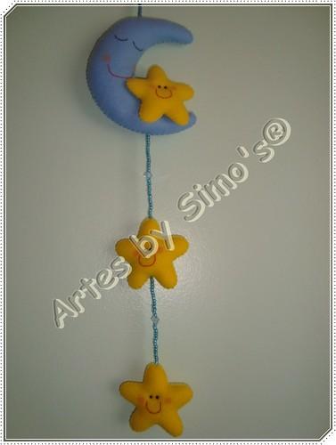 Mobile lua e estrelas by Artes by Simo's®