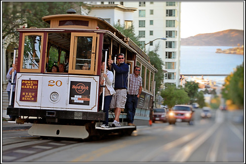 [Classic SF Shot]:  The Cable car