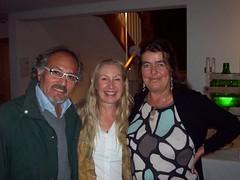 Macaco, Inti and Sabine from Tamera
