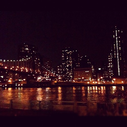 I love the city at night.