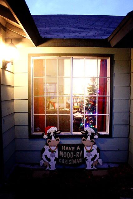 Moo-ry Christmas