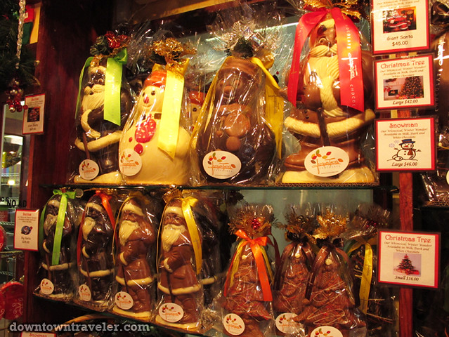 Jacques Torres chocolate shop in DUMBO Brooklyn