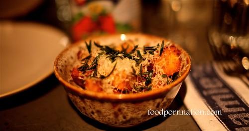 Crispy polenta fries @ Jaime's Italian Sydney